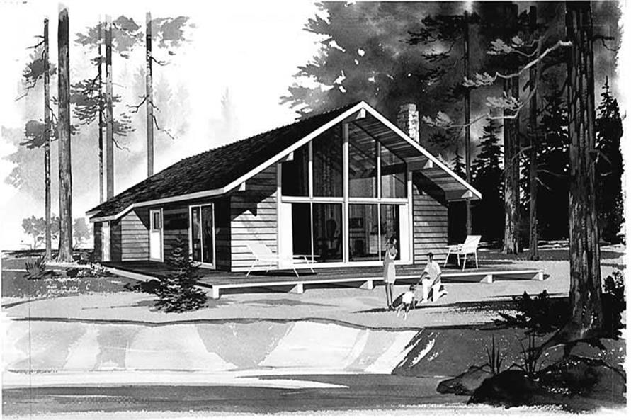 Main image for house plan # 17310