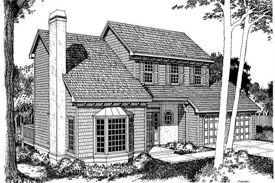 Main image for house plan # 17956