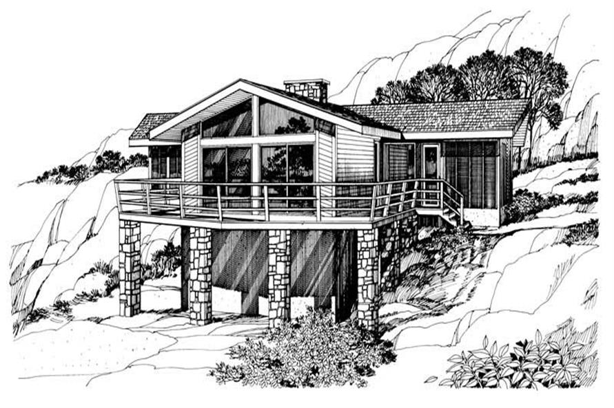 Main image for house plan # 17973