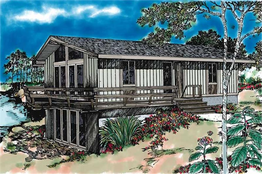 Main image for house plan # 17972