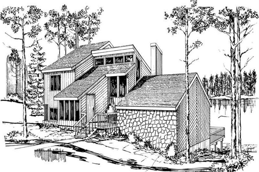 Main image for house plan # 17970