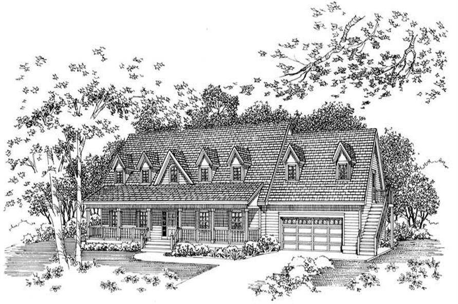 Main image for house plan # 17976