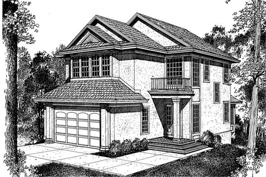 Main image for house plan # 17944
