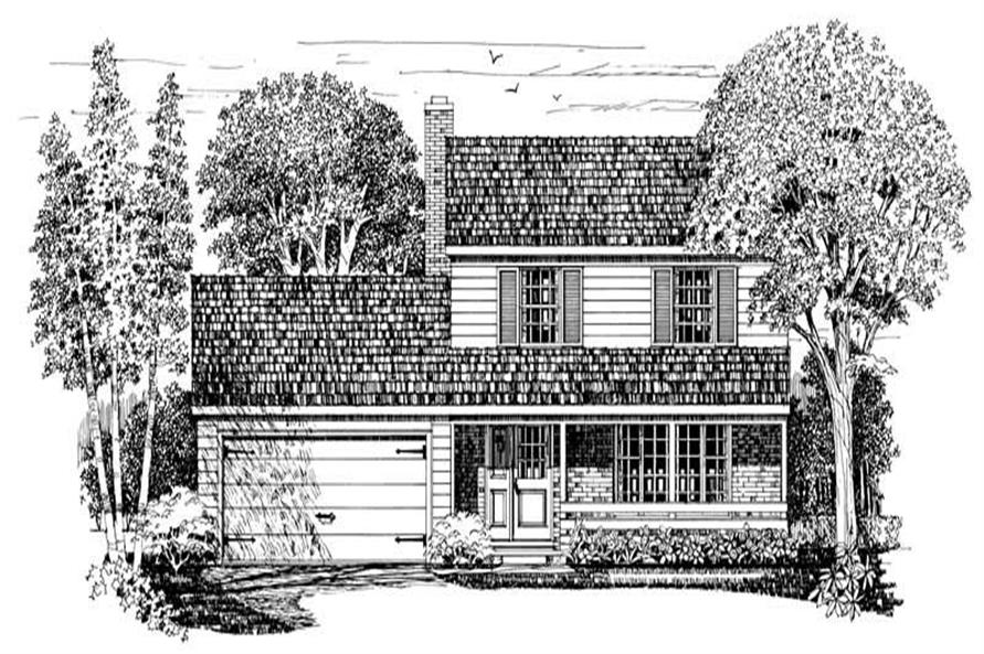 Main image for house plan # 17258