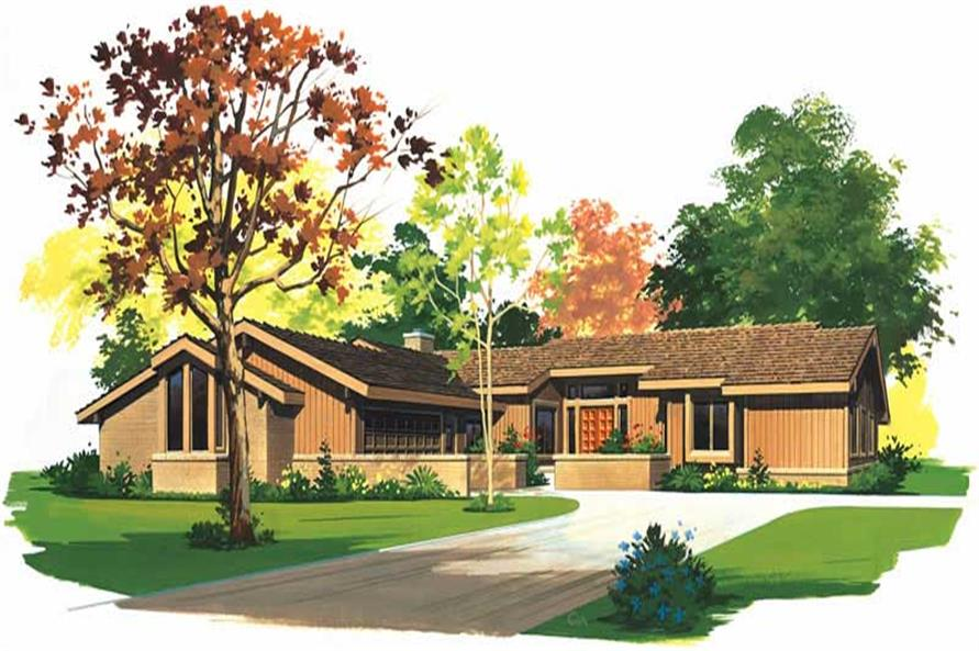 Main image for house plan # 18518