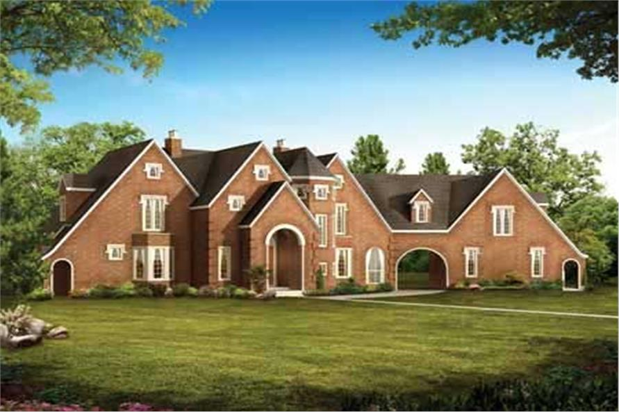Main image for house plan # 18223