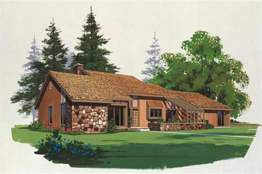Main image for house plan # 18492