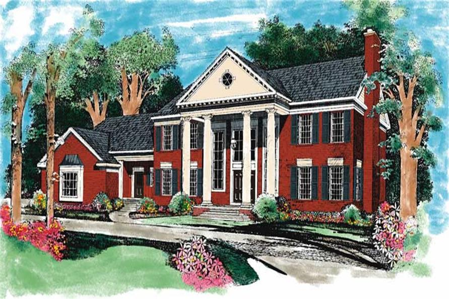 Main image for house plan # 18502