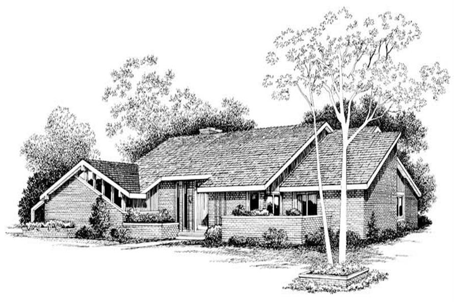 Main image for house plan # 18508