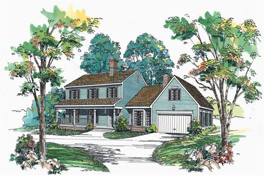 Main image for house plan # 18512