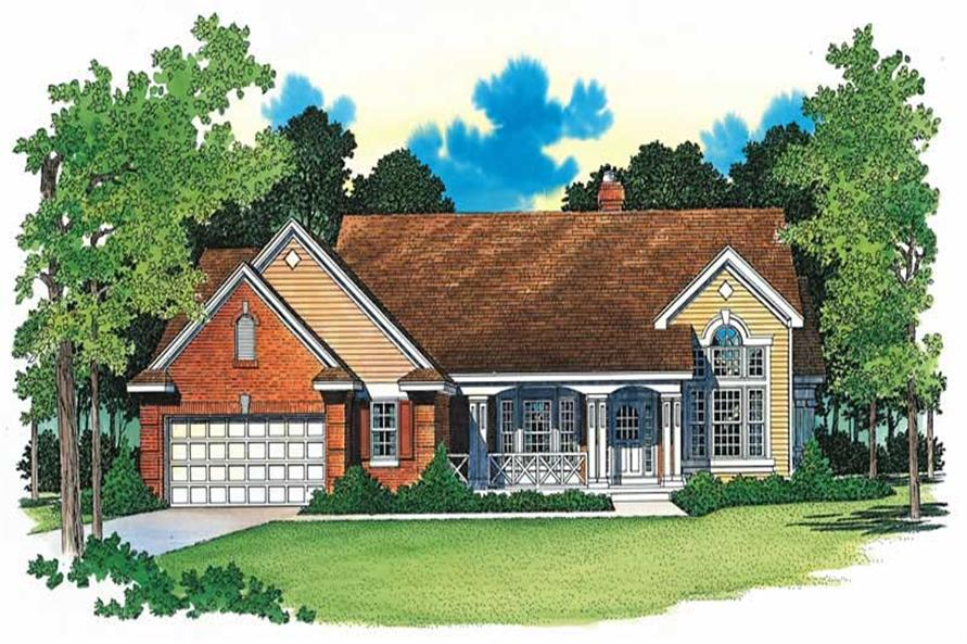 Main image for house plan # 18248