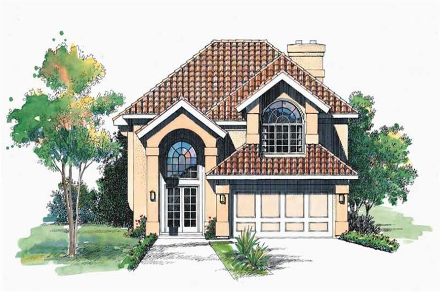Main image for house plan # 18482