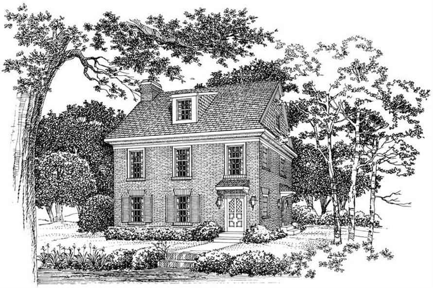 Main image for house plan # 18297