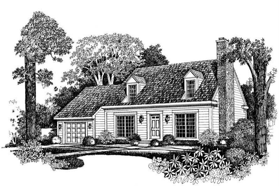 House Plan #137-1296