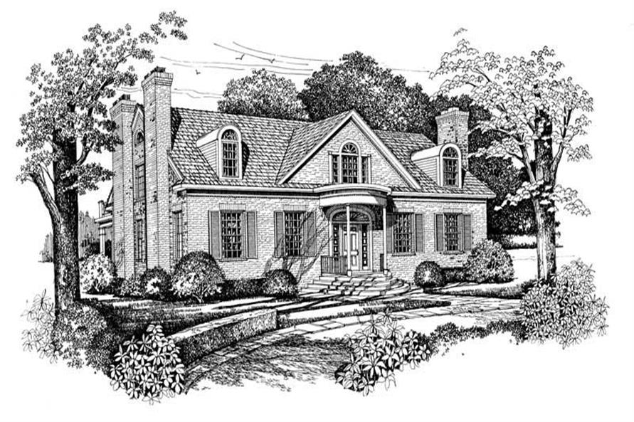 Main image for house plan # 18311