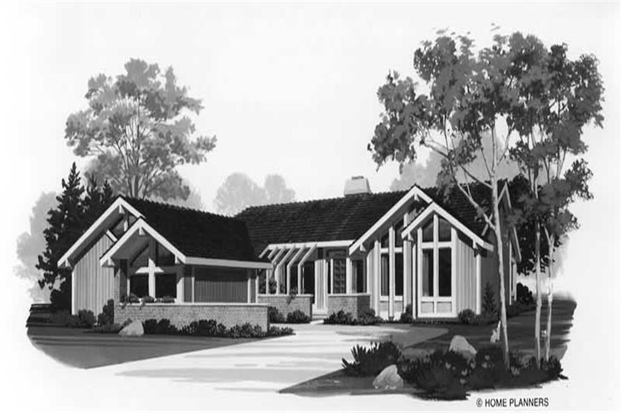 Main image for house plan # 18520