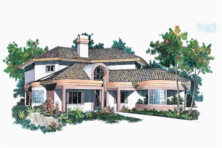 Main image for house plan # 18416