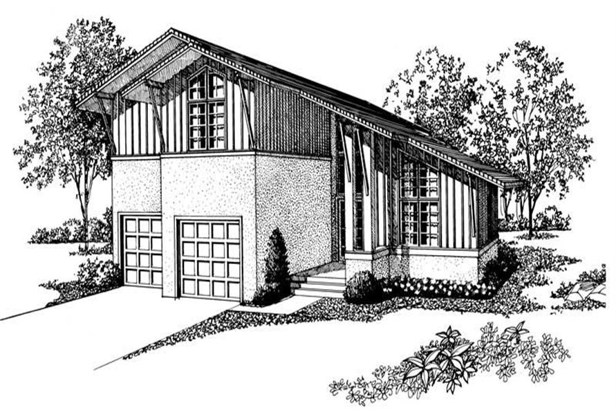 Main image for house plan # 18417