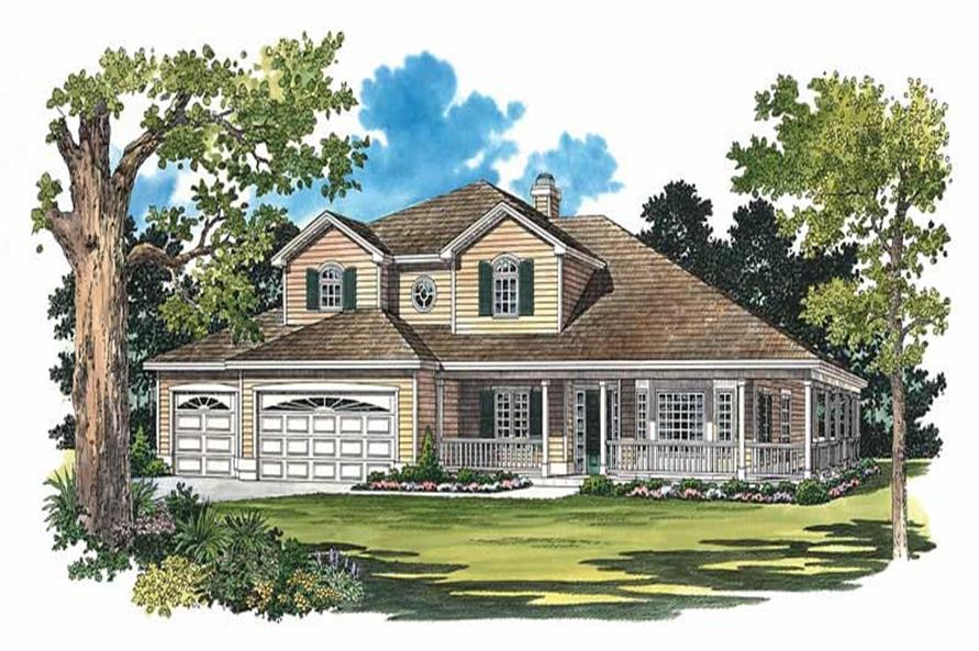 Main image for house plan # 18219