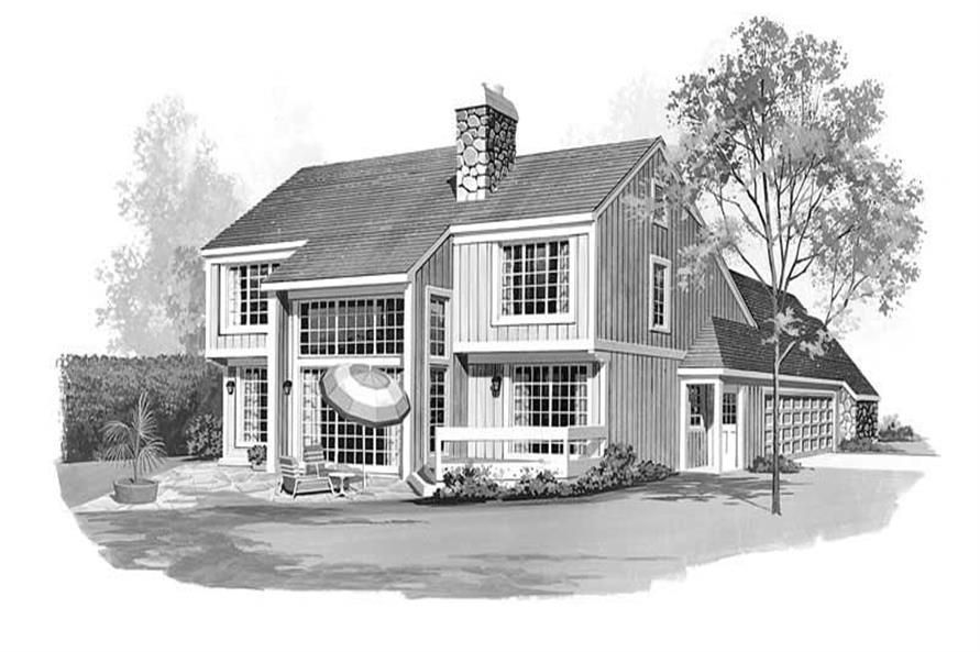 House Plan #137-1313