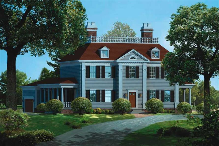 Main image for house plan # 18576