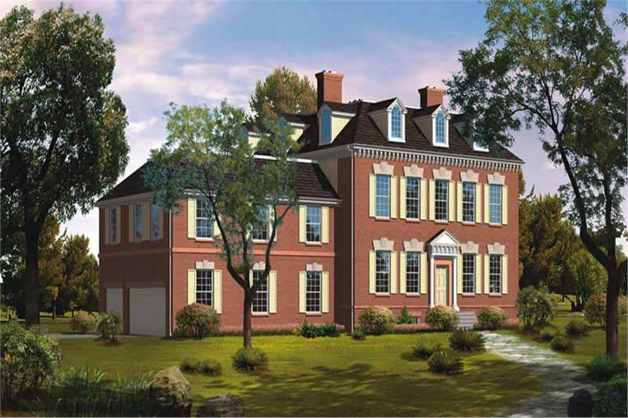 Main image for house plan # 18584