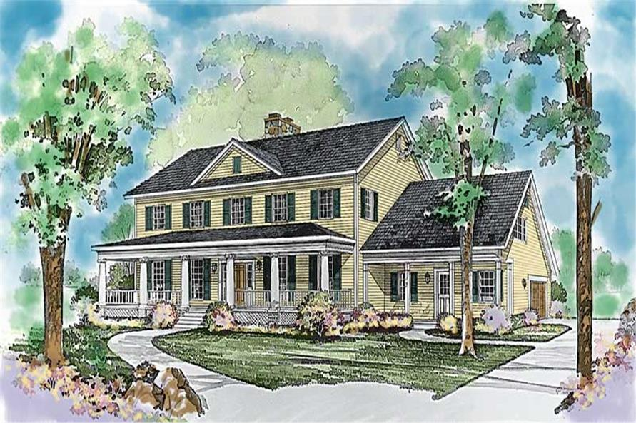 Main image for house plan # 18570