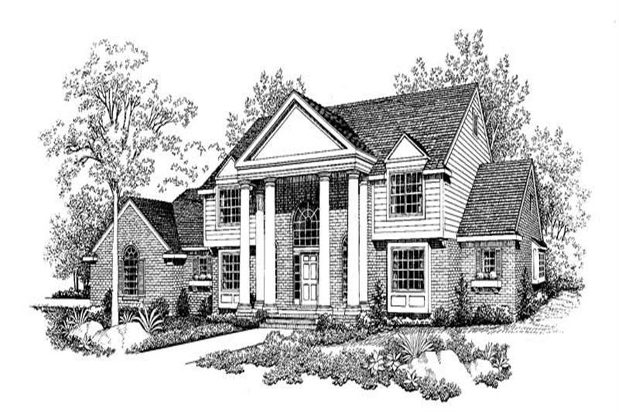 Main image for house plan # 18607