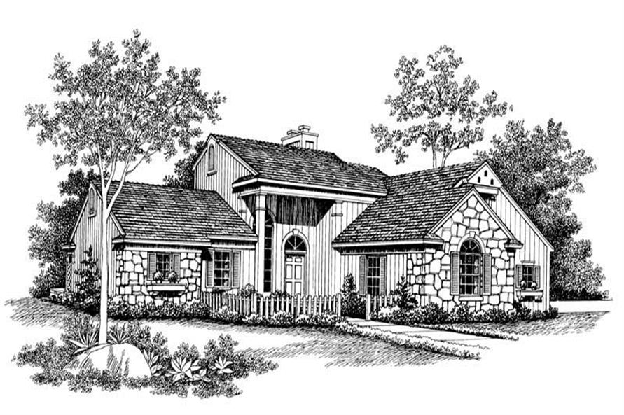 Main image for house plan # 18614