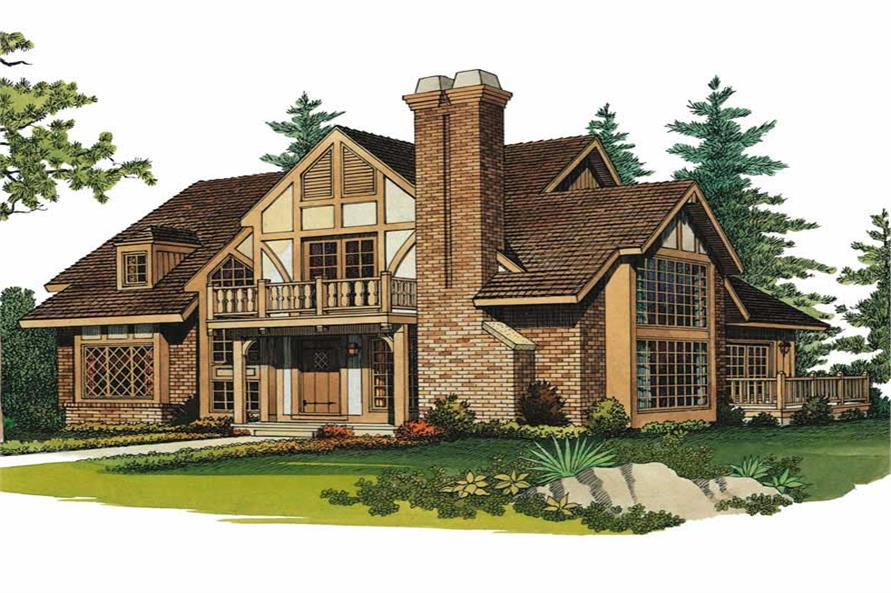 Main image for house plan # 18615