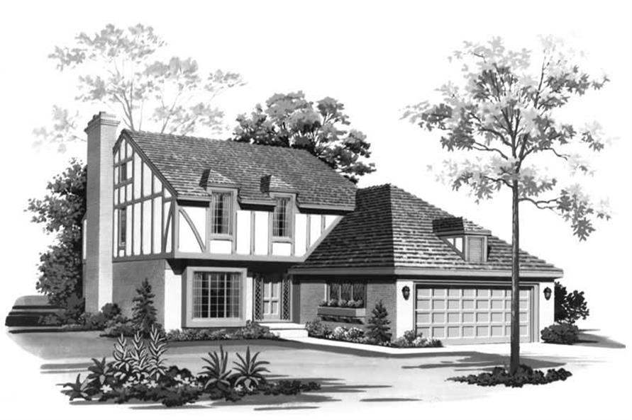 Main image for house plan # 18545