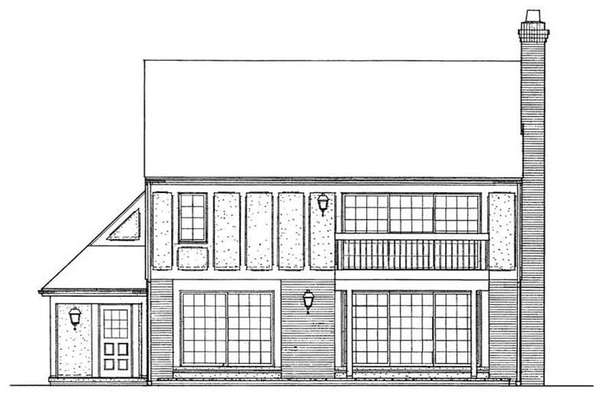 House Plan #137-1337
