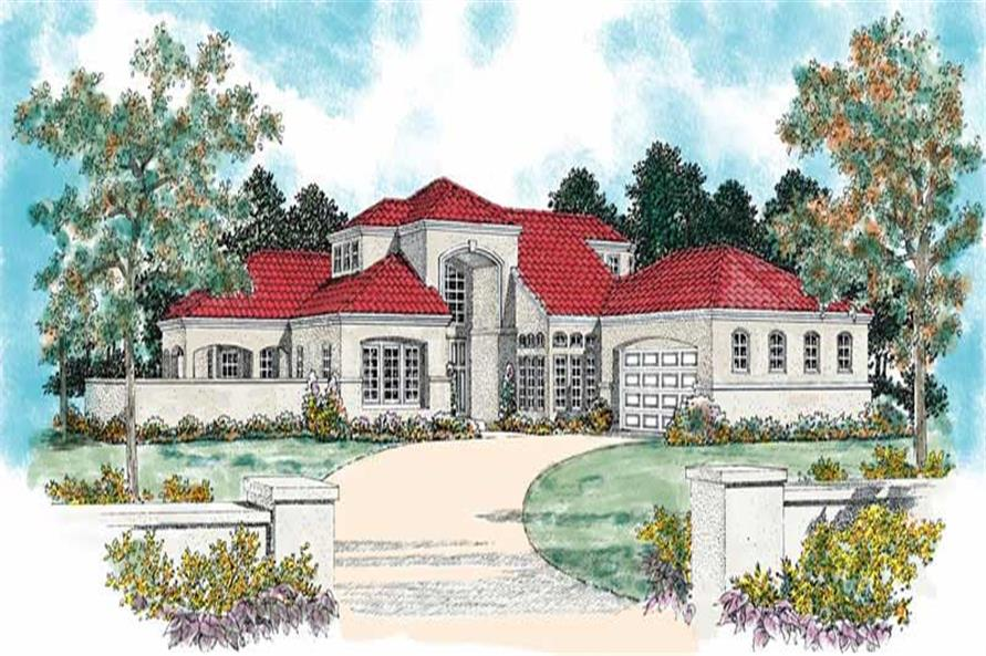 Main image for house plan # 18162
