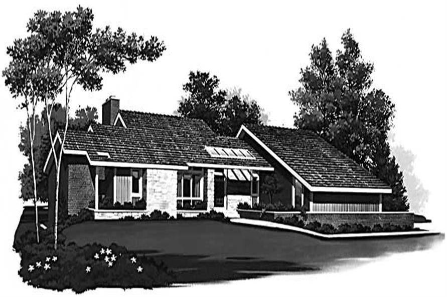 Main image for house plan # 18532