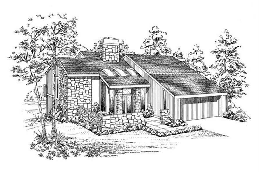 Main image for house plan # 18534