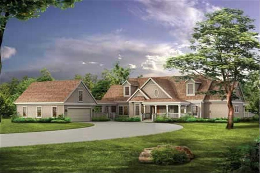 Main image for house plan # 18240