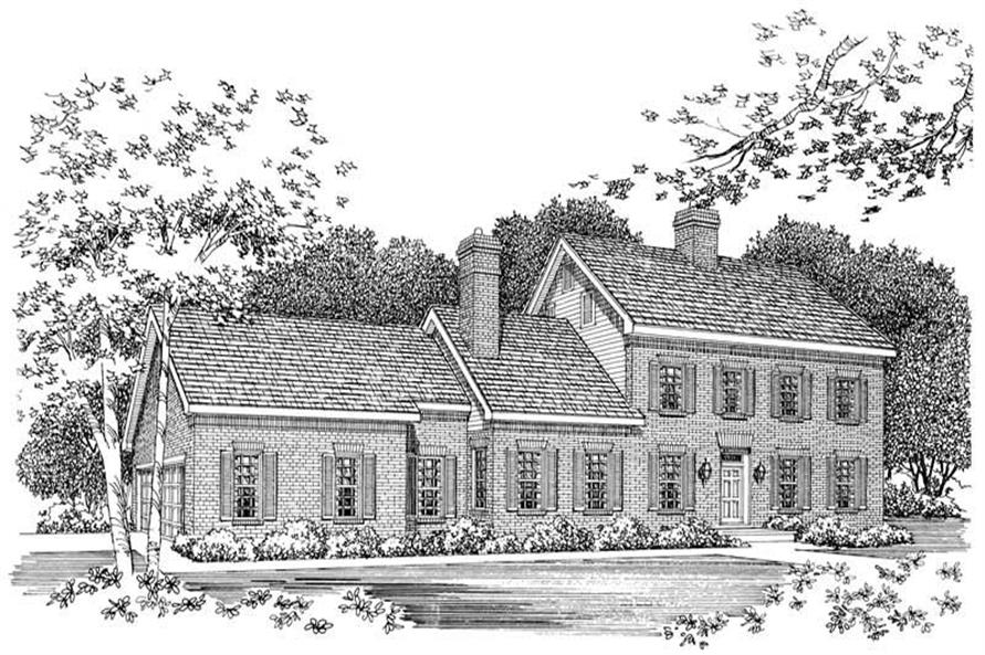 Main image for house plan # 18551