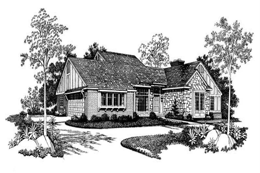 Main image for house plan # 18554