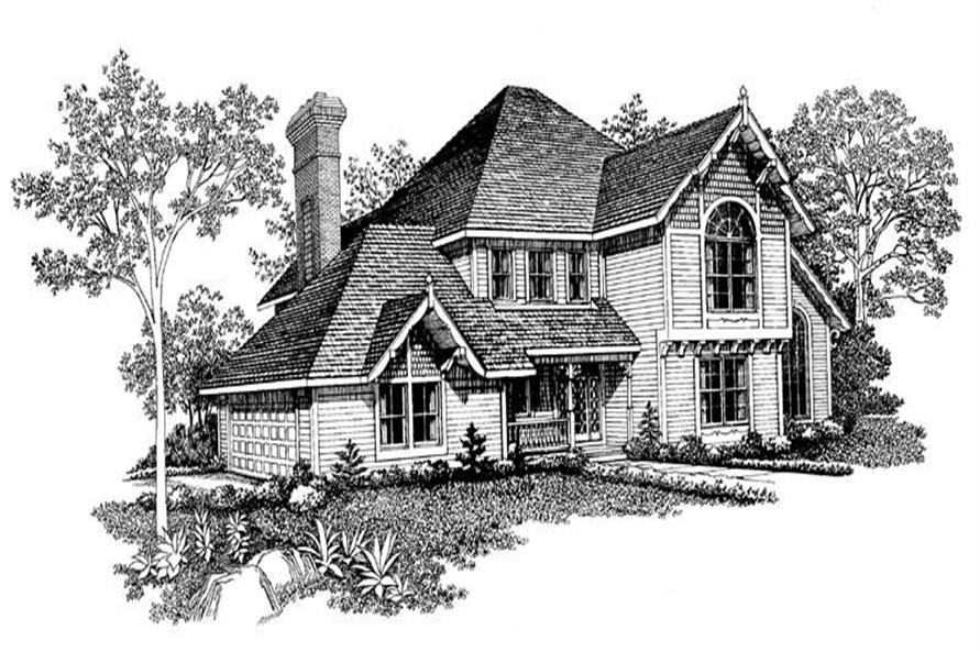 Main image for house plan # 18557