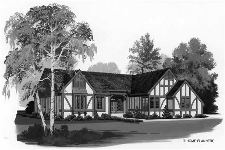 Main image for house plan # 18558