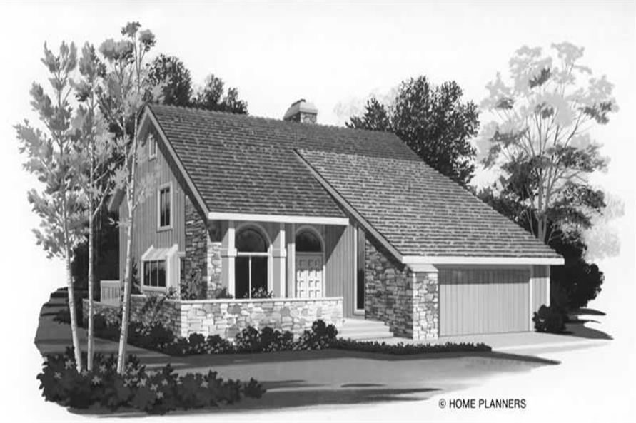 Main image for house plan # 18563