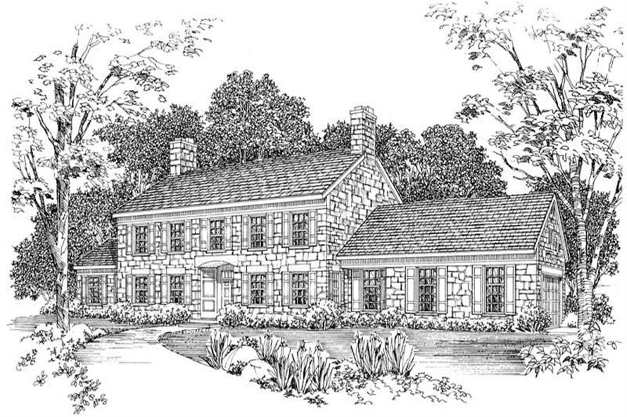 Main image for house plan # 18564