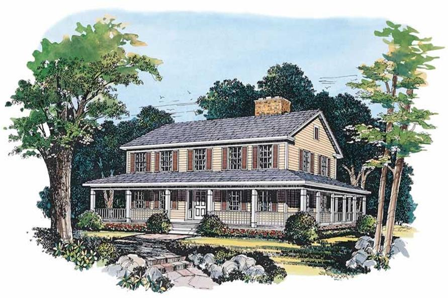 Main image for house plan # 18310