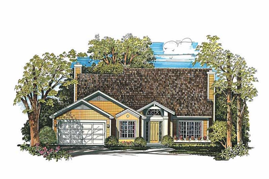 Main image for house plan # 18329