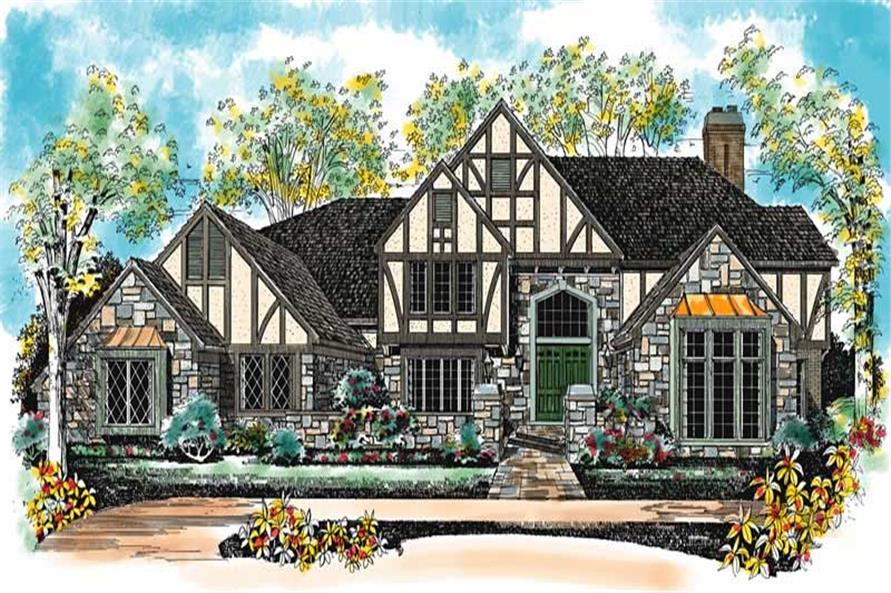 Main image for house plan # 18288
