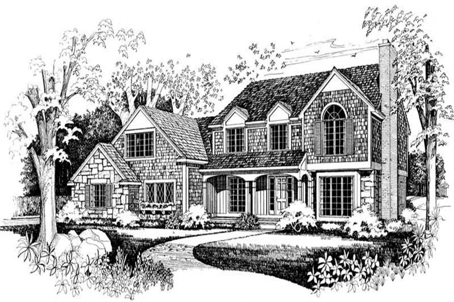 Main image for house plan # 18290