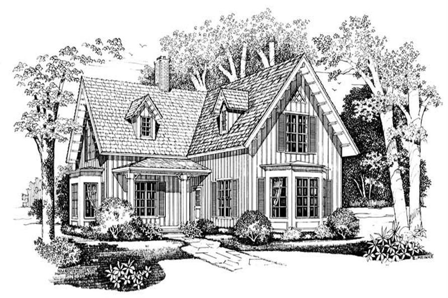 Main image for house plan # 18299
