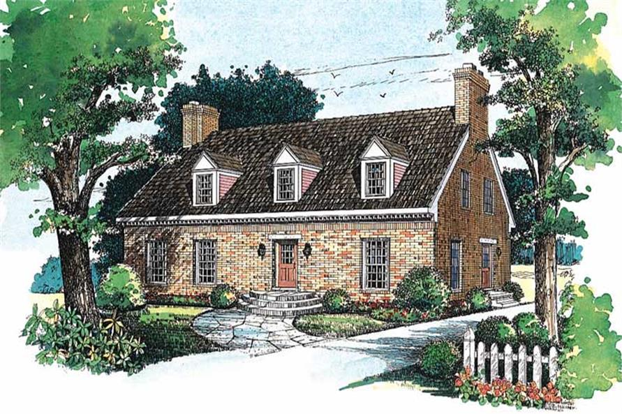 Main image for house plan # 18301