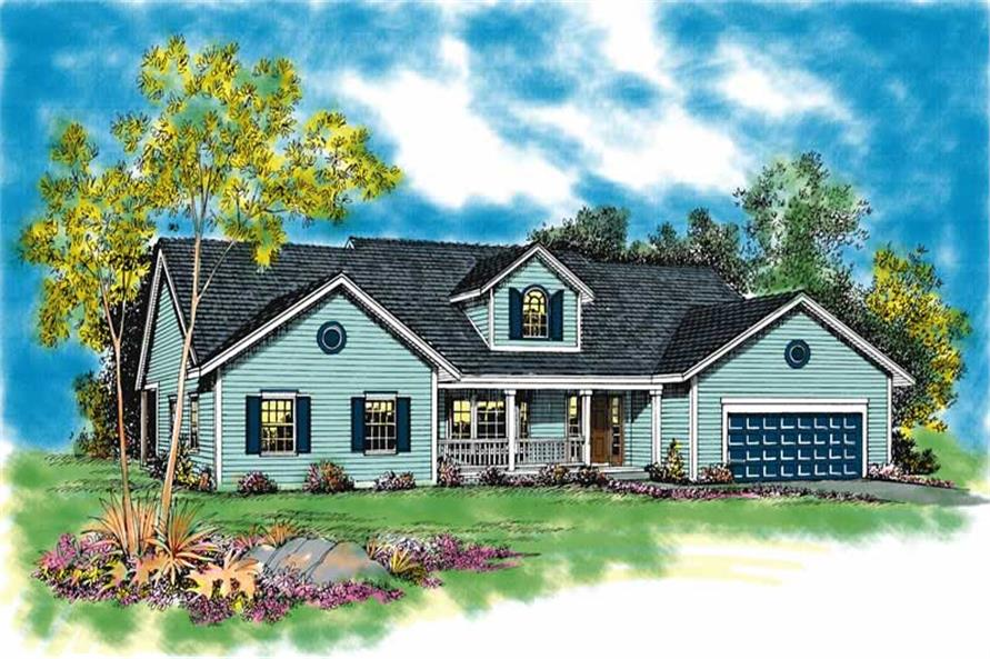 Main image for house plan # 18144