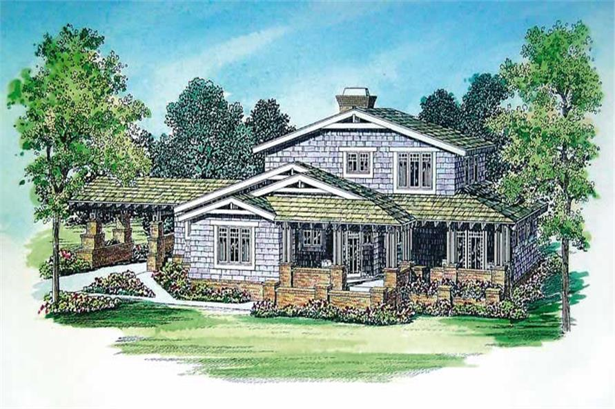 Main image for house plan # 18323